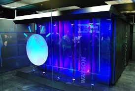 A room where IBM Watson is housed